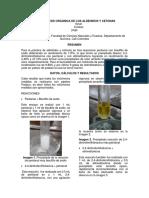 Síntesis Orgánica de Los Aldehidos y Cetonas