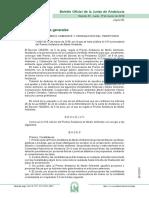 Orden de 12 de Marzo XXII Premio Andalucía de Medio Ambiente [8504]