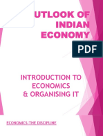 Outlook of Indian Economy