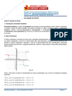 Geometria Analítica Tratamento Algébrico - Apostila Nível Médio