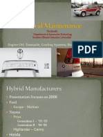 Hybrid Maintenance ACIAA 10-9-09