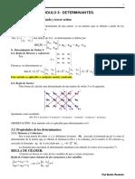 Modulo 3 Det y Val Caracte