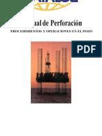 273875323 Manual de Perforacion Procedimientos y Operaciones en El Pozo