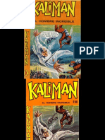 Kaliman (MR) Mensajeros de La Muerte # 248 Serie Original RE