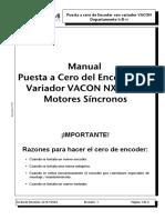 Puesta a Cero Encoder Con Vacon NXP