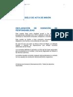 Modelo de Acta de Misión CCI