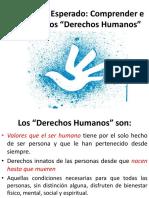 Aprendizaje Esperado Derechos Humanos