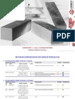 Componentes de Cementoxx