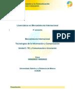 U3. TICs y Comunicacion e Innovacion