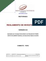 Reglamento Investigacion v010