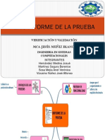 Informe de La Prueba