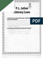 literacy luau