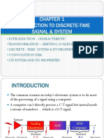 Discrete-time Signal & System