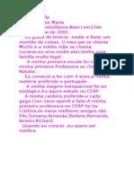 Autobiografia Maria Fernanda
