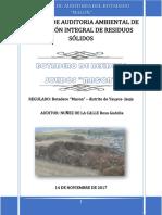 Informe de Auditoria de Planta de Residuos Solidos Macon