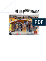 Manual de Prevencion de Robos a Negocios