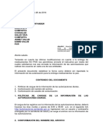Oficio a Las Eps. Autorizacion Medicamentos No Pos. Ssd Santander. 20-10-2018