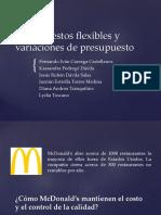 Presupuestos flexibles y variaciones. Equipo 1.pptx