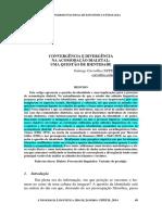 CARVALHO - Convergência e Divergência Na Acomodação Dialetal, Uma Questão de Identidade