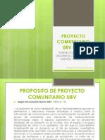 Presentacic3b3n Proyecto Comunitario Ubv i IV Pfg Ga