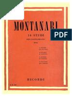 Montanari - 14 Estudos para Contrabaixo.pdf