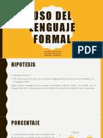 Lenguaje Presentación Final