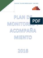 Plan de Monitoreo 2018