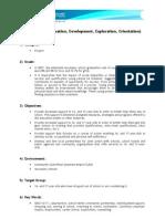 IDEO 16/17 (Innovation, Development, Exploration, Orientation)