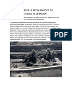 Justificación de La Problemática de Contaminacion en El Cerrejon
