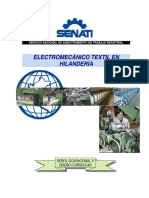 Electromecánico Textil en Hilandería 201520