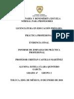 Informe de Mi Práctica Profecional_septimo Semestre_ Evidencia Final