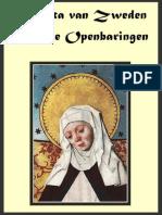 Hemelse Openbaringen van Birgitta van Zweden - Boek 1