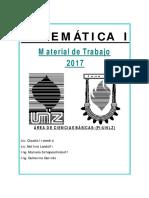 MATE 1 -Teoria 2017-2