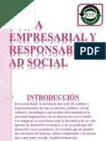 ÉTICA EMPRESARIAL Y RESPONSABILIDAD SOCIAL