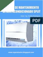 Mantenimiento Aire  tipo Split.pdf