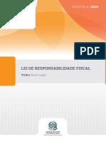 Lei de Responsabilidade Fiscal - Versão 2018