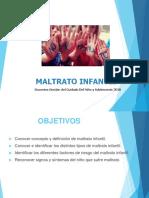 Clase Maltrato Infantil