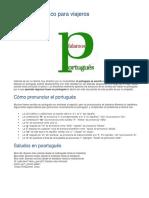 Portugués Básico Para Viajeros