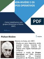 Pichon-rivière e Os Grupos Operativos Dinamica Grupo 18.08