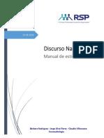 Manual de Estimulación del Discurso Narrativo