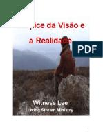 Witness Lee - O Ápice Da Visão e a Realidade