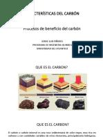 Caracteristicas Del Carbón