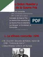 El Nuevo Orden Mundial- inicio de la Guerra Fría(1)