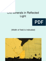 Ore Minerals in Reflected Light