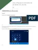 Configuración AD Server 2012 R2 (1)