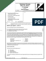 Deutz Gas Engine 0199-99-2105-5 Bulletin