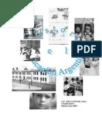 Historia de La Educacion Argentina 2007