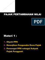 Materi PPN - 1