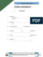 Informe Topografico Cp Ichuña