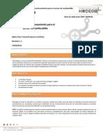 HDC-AN0002 - Pruebas Funcionales - Sensor de Combustible - Rev.1.1